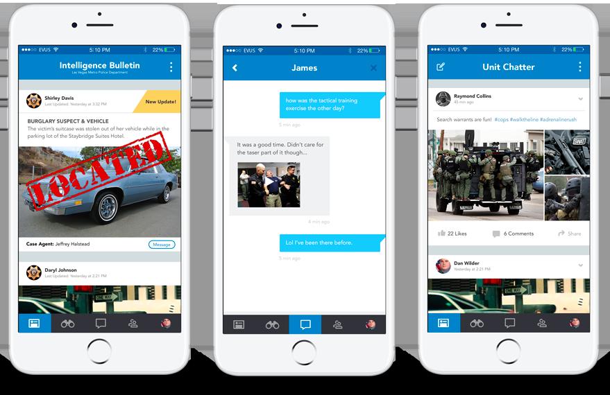 BLUE Police Mobile App