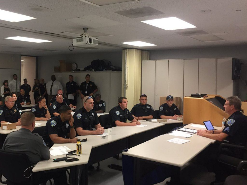 Police morning briefing