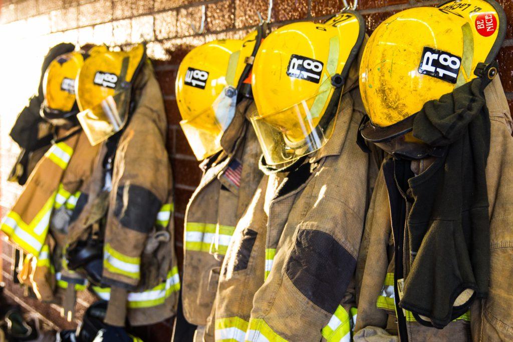 Fire department communication app